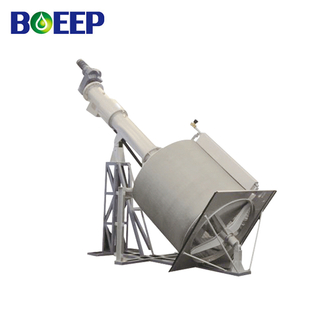 High Quality Low Price Rotary Drum Fine Screen for Wastewater Filtration