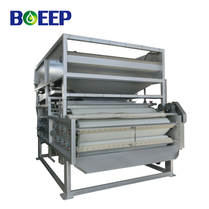 Continuous Gravity Belt Filter Press Sludge Dewatering for Sewage Water Plant