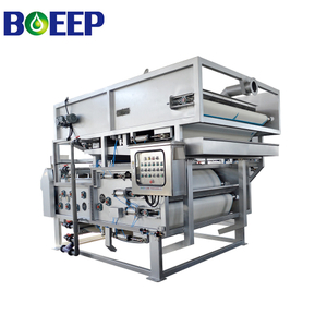 Decanter Sludge Dewatering Belt Press with Gravity Thickener for Municipal Sewage