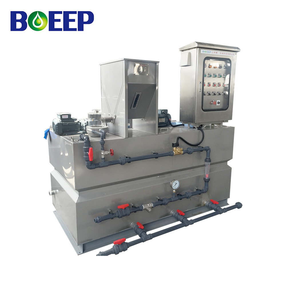 Automatic Polymer Preparation Unit for Dosing System