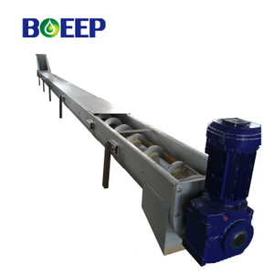 Shaftless Screw Conveyor for Sludge Conveying