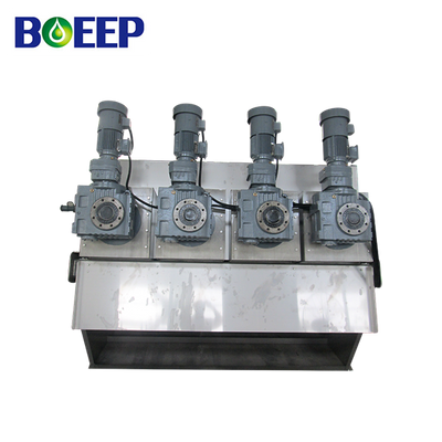 ISO Certificate Saving Energy Volute Extruder for Biochemical Pharmacy Sludge