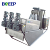 Compact Pre-thickening Screw Press Dewatering Unit for Biological Sludge