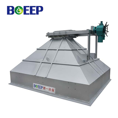 High Quality Wastewater Treatment Sludge Hopper for Sludge Dehydrating Process